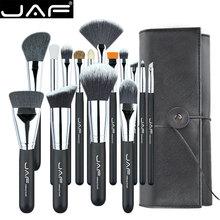 JAF 15pcs Makeup Brushes Tools, Conveniently Portable Make U