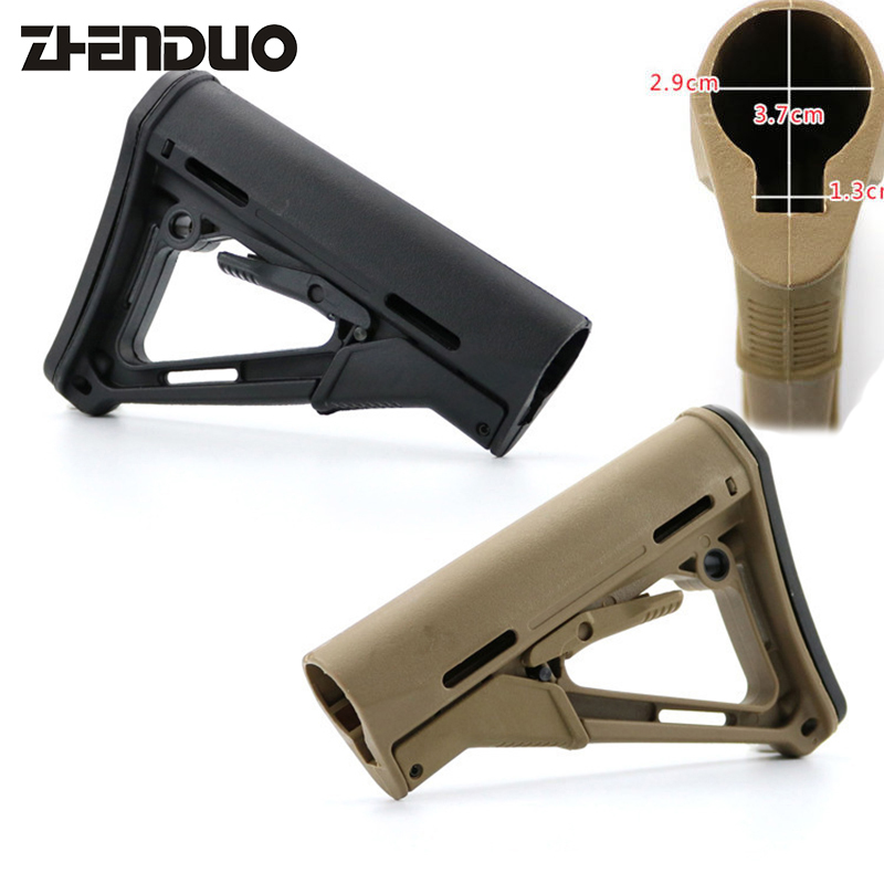 ZhenDuo Toys Water bullet Gel ball gun Tactics upgrade toy accessories butt of a rifle zhenduo toy xm316 split gun body toy gel ball gun accessories free shipping