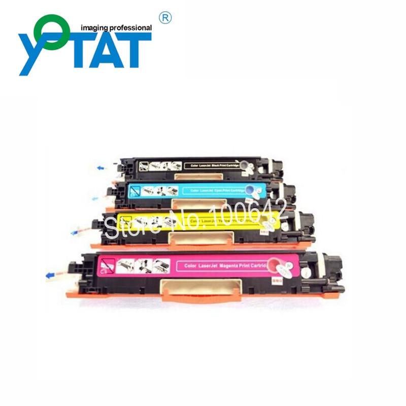 ФОТО Toner cartridge CF350A CF351A CF352A CF353A for HP Color LaserJet Pro M176n M177fw