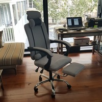Office Computer Chair in Furniture Lifting Reclining Gaming Revolving Footrest High Back Ergonomic Armchair