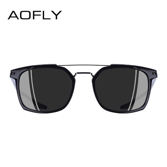 AOFLY BRAND DESIGN Classic Polarized Sunglasses Men Driving TR90 Frame Sunglasses Goggles UV400 Gafas Oculos De Sol AF8091 2