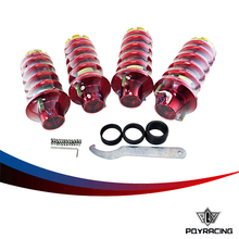 RACING  STORE- RD RACING JDM ALUMINUM ADJUSTABLE COILOVER SPRING+SHOCKS STRUT TOWER TOP HAT PQY-TH12RD