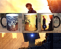 Fantastic Beasts And Where to Find Them mugs heat changing color Cup mugs heat sensitive mug transforming magic gift customized