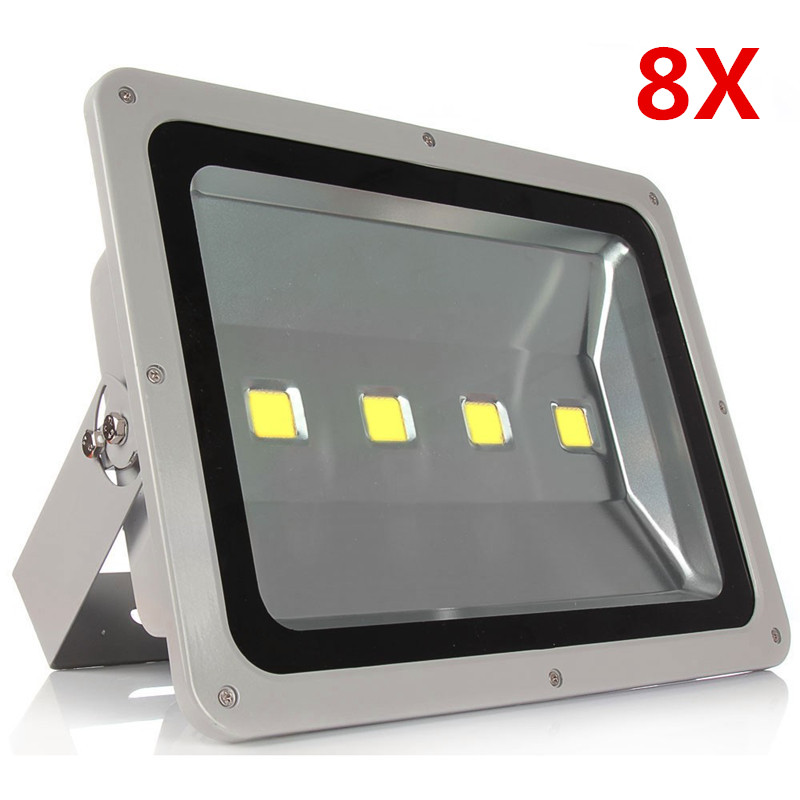 8pcs/lot Ultrathin Led Flood light 200W Led Floodlight New type Grey Shell AC85-265V Led Spotlight Outdoor lighting DHL Free ultrathin led flood light 100w 70w white ac85 265v waterproof ip66 floodlight spotlight outdoor lighting projector freeshipping