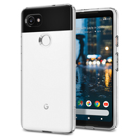 100 Original SPIGEN Google Pixel 2 XL Liquid Crystal Case Crystal Clear F17CS22280
