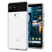 100 Original SPIGEN Google Pixel 2 XL Liquid Crystal Case Crystal Clear F17CS22280