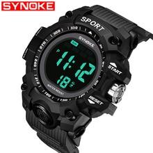 Men Sports Digital Waterproof Watch Men's Boy LCD Digital St