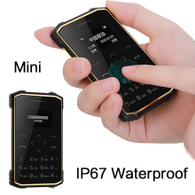iMAN S1 Pro IP67 mini Waterproof Rugged ultrathin credit card Mobile Phone shockproof pedometer Remote camera Anti-lost P002