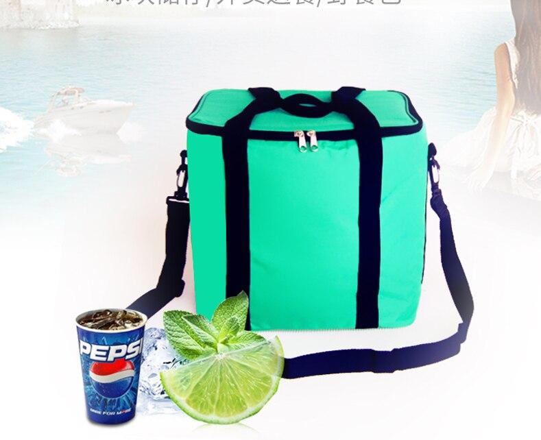 13l Marke Kapazität Wasserdichte Kühltasche Große Picknick Box Fahrzeug Isoliert Kühlen Taschen Eis Pack Frische Isolierung Handtaschen Zhao30