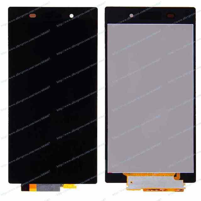 Новый черный OEM сенсорный экран с цифрователем + жк-дисплей тяга для Sony Z3 D6603 D6643 D6653 телефон