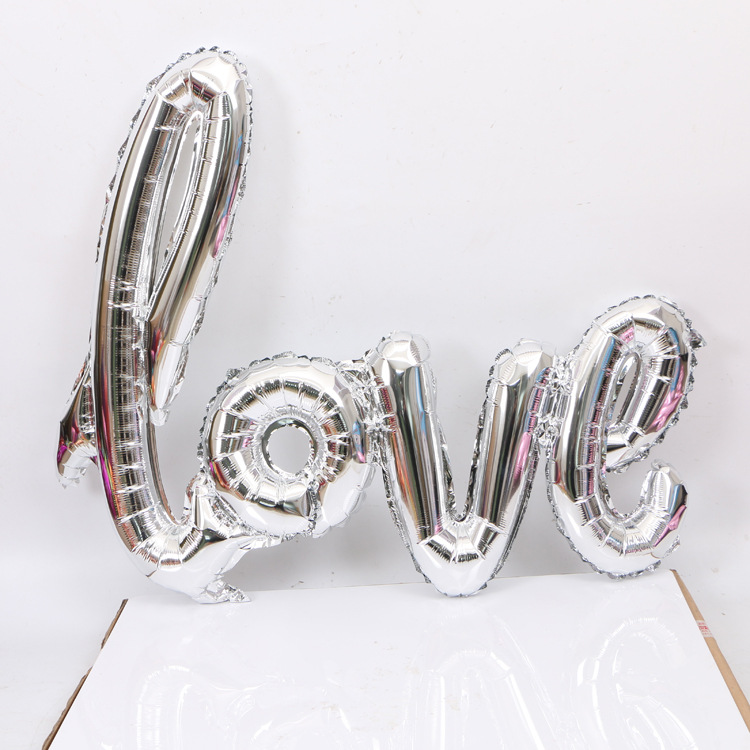 VIPOINT PARTY 108 64cm pink red rose gold love foil balloons wedding event christmas halloween festival birthday party HY 133 in Ballons Accessories from Home Garden