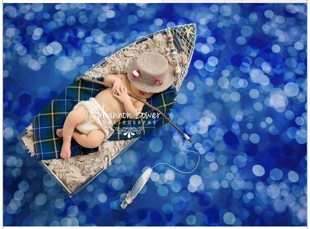 5*6.5FT Kate Custom Newborn Backdrops Photography Backgrounds Bokeh Washable Backdrops For Photography Baby Backdrops Fotografia simple wave photography backdrops 3x5ft newborn boy birthday photography background custom made fotografia