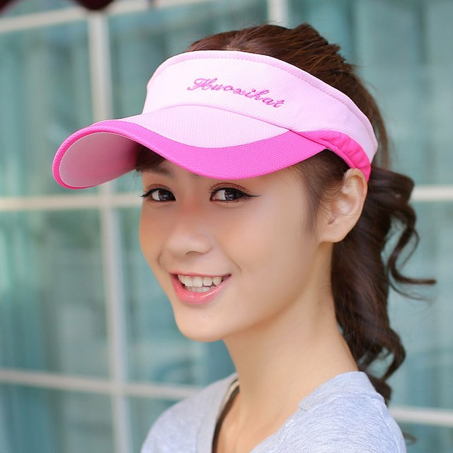 Summer outdoor male women's sports tennis ball cap crownless sunbonnet sun hat baseball cap visor