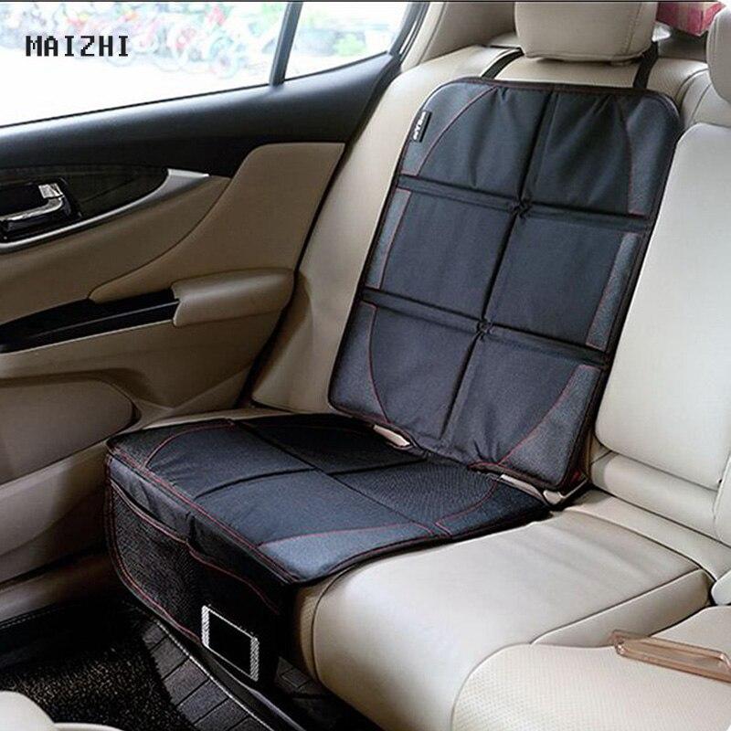 2017 jaunais luksusa auto sēdekļu aizsargs, bērnu vai bērnu auto sēdekļu aizsargs, auto sēdekļu aizsardzība, melnā assento aizsardzība
