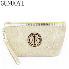 GUNUOYI Women Travel Cosmetic Bag Makeup Bag 7 Colors Portable Folding Wash Gargle to Receive Package Waterproof 16.5*7*13