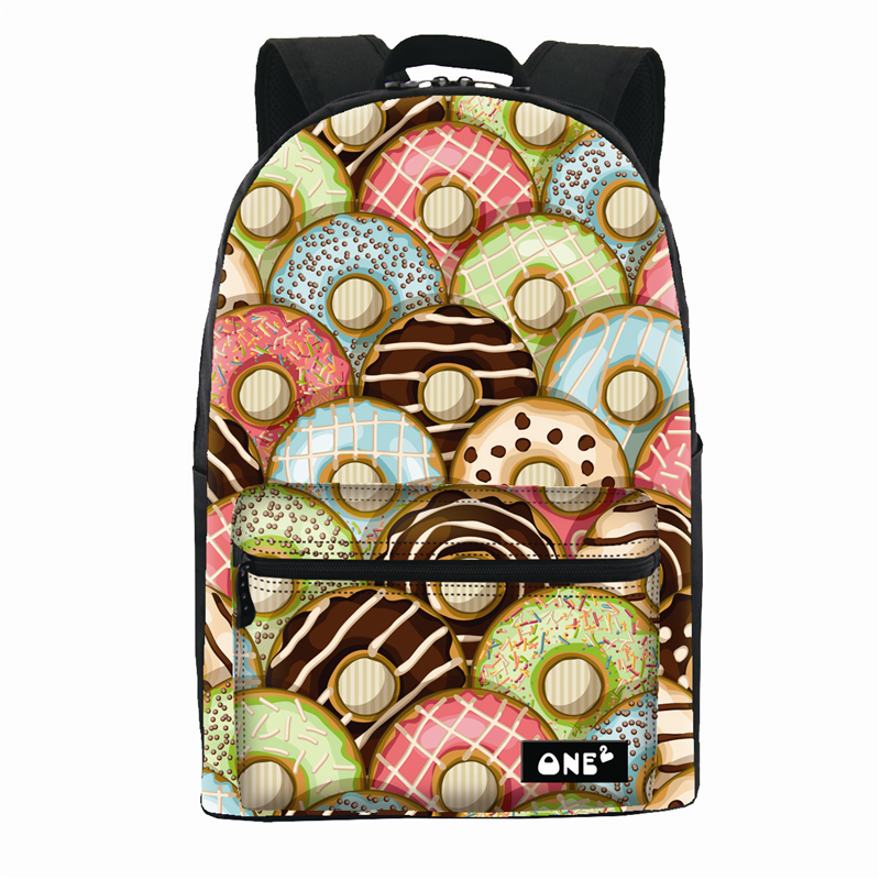 adolescentes com donut design bolsa Usage : Daily Protective Bag