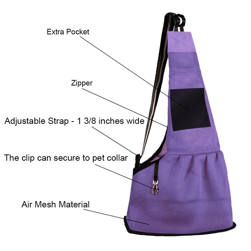 [TAILUP] Pet Carrier Bag Slings Summer Pustende Pet Dog Carrier Bag - Pet produkter - Foto 3