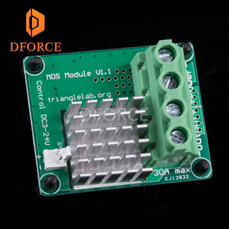 Mini Mosfet big current for 3dprinter Heatbed MKS MOS module exceed update heating controller Hot Bed Power Expansion Board