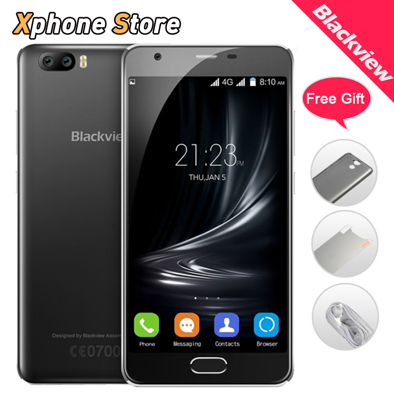 Original Blackview A9 Pro 4G Mobile Phones Android 7.0 2GB RAM 16GB ROM smartphone Dual Back Camera Dual SIM 5.0 inch Cell Phone