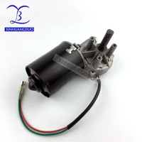 high torque worm gear reducer motor 45RPM GW7085 dc 12 v 6N.m 6A low speed wiper, barbecue grill motor right