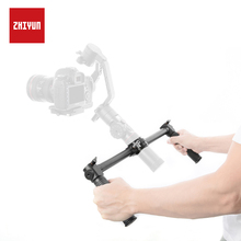 ZHIYUN Original Crane 2 Dual Handle Extended Handheld with 1/4 Screw Hole for Mounting Accessories Hand Grip PK dji osmo