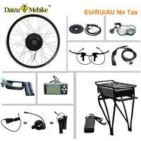 36 В 48 В задняя стойка батарея 250 Вт 350 Вт 500 Вт Электрический велосипед конверсионный комплект задняя переноска для MTB дорожный городской вело
