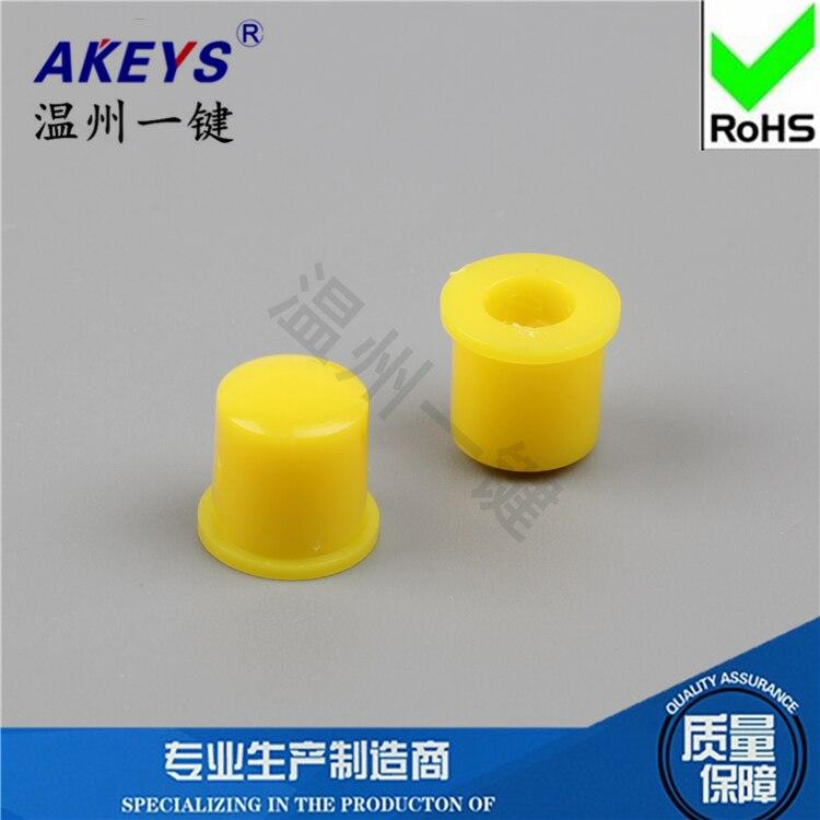 15pcs A22 Yellow with key switch key switch Hats High quality straight key switch Hat switch
