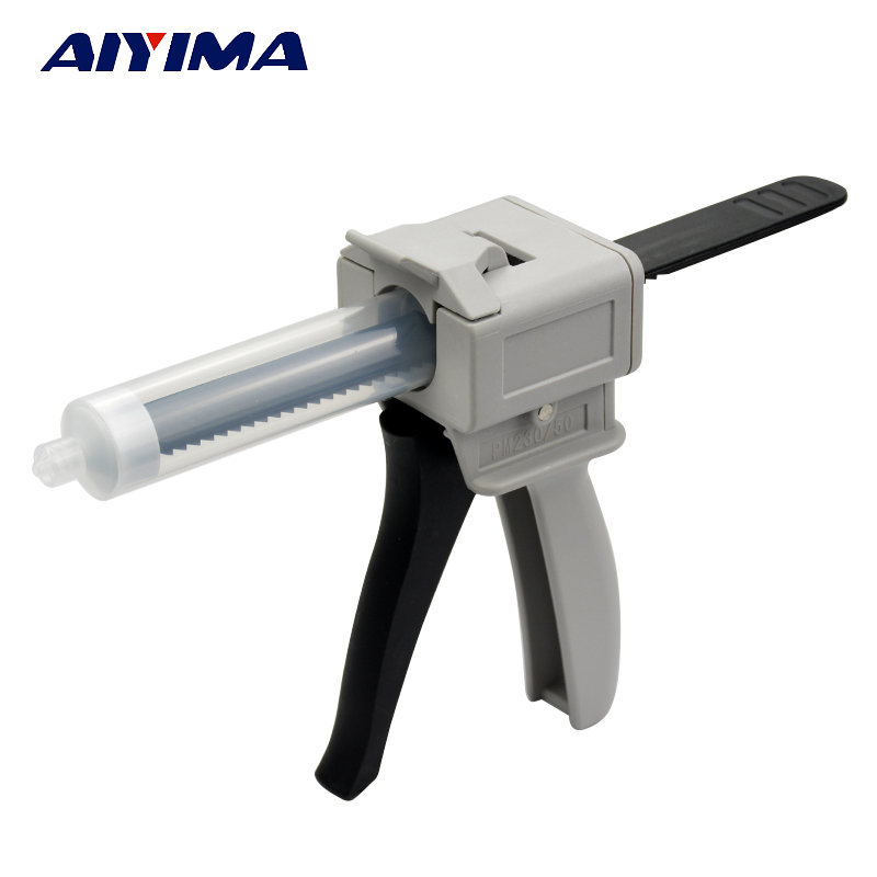 1Pcs 30ML Manual Syringe Gun Dispenser Single Liquid Glue Guns 30CC Common 30ml manual syringe gun dispenser dispensing single liquid glue gun 30cc common 1pcs 30cc cones 5pcs dispensing tips