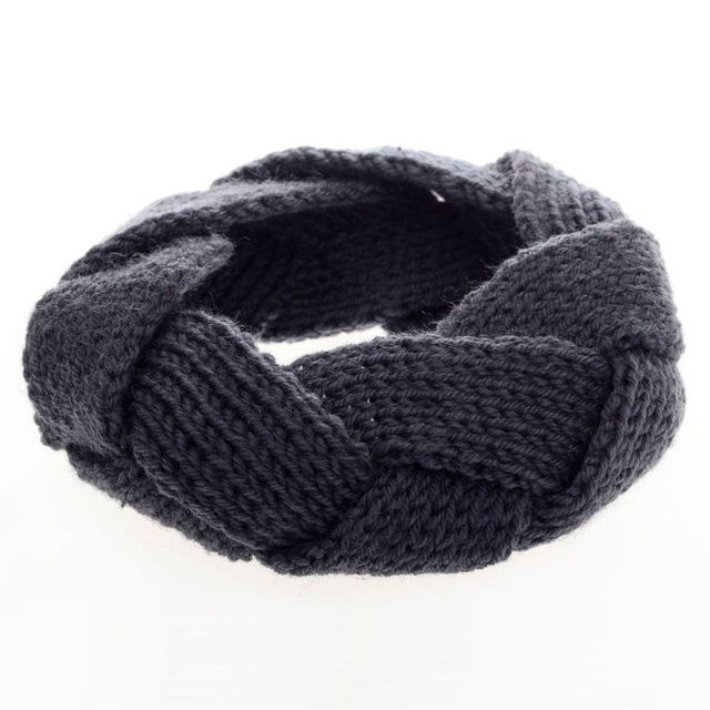 Women Winter Elastic Wide Stretch Headband Twist Knitted Braid Crochet Turban Hairbands Ear Warmer Head Band Hair Accessories