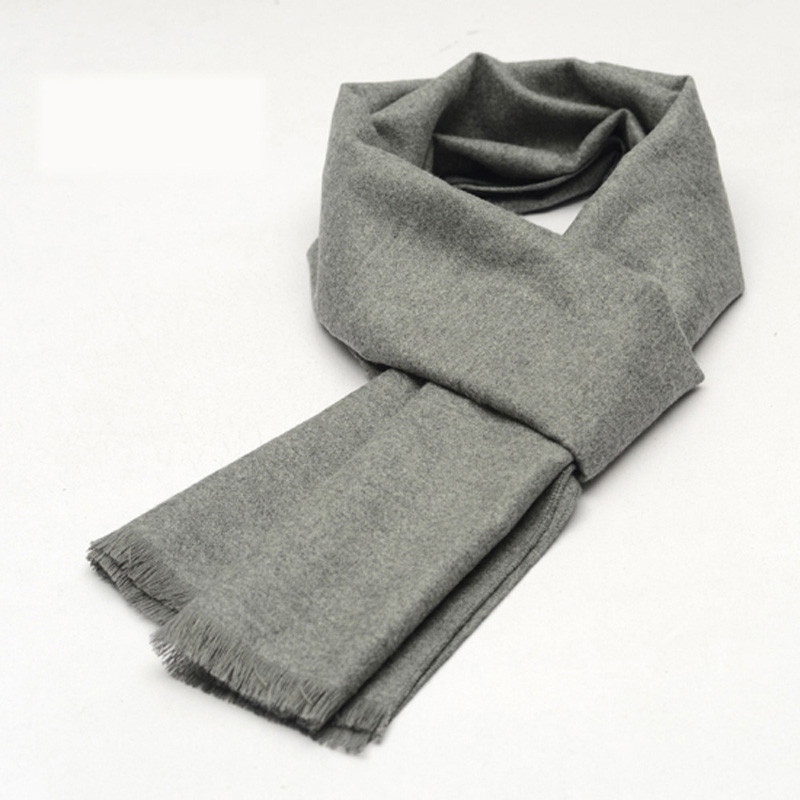 New Fashion Designer Men's Classic 30CM Width Scarf Casual Party Spring and Winter Special Scarf for Men Pack with Gift Box