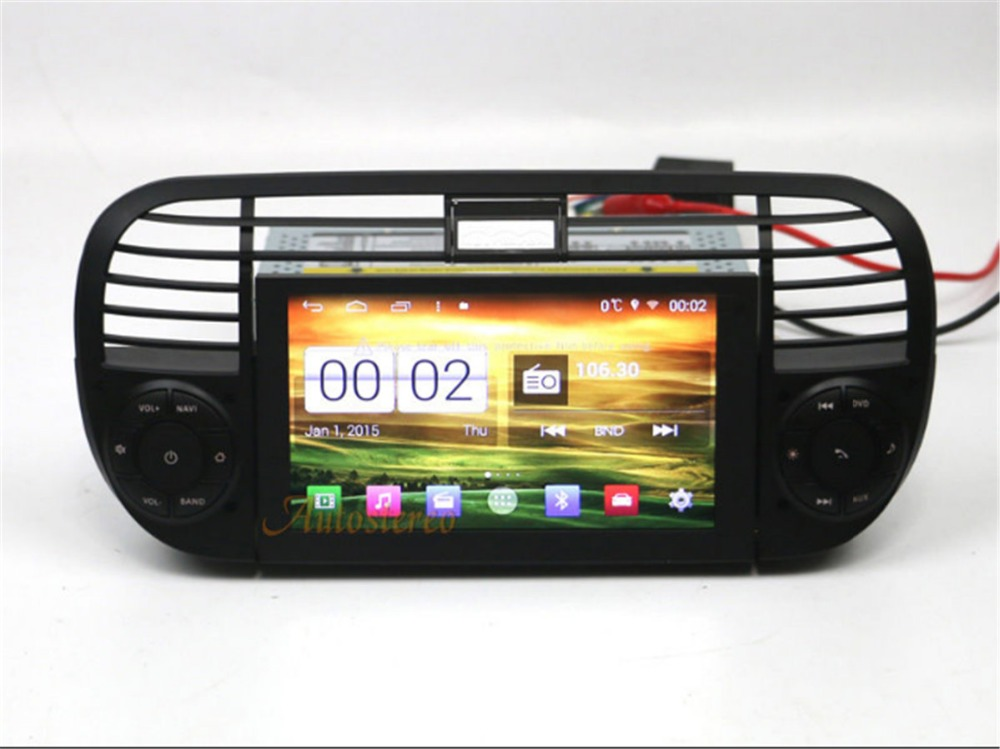 online buy wholesale fiat 500 gps navigation system from. Black Bedroom Furniture Sets. Home Design Ideas