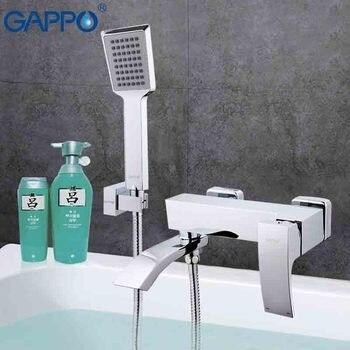Gappo 1 костюм для мальчиков, футболка + штаны Высокое качество Ванна с водопадом раковина кран torneira смеситель туалете раковина Душ Смесители Н...