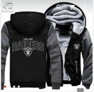 YINQI Sweatshirt Team Raiders Zipper Hoodies For Men 6XL 0619da26a