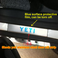 Free shipping, Car scuff plates stainless steel door sill strip fit for 2013-2016 Yeti welcome pedal auto accessories 4pcs