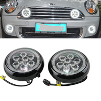 car styling 18W Daylight guide design LED Daytime Running Rally light for All Mini cars For Mini cooper/countryman