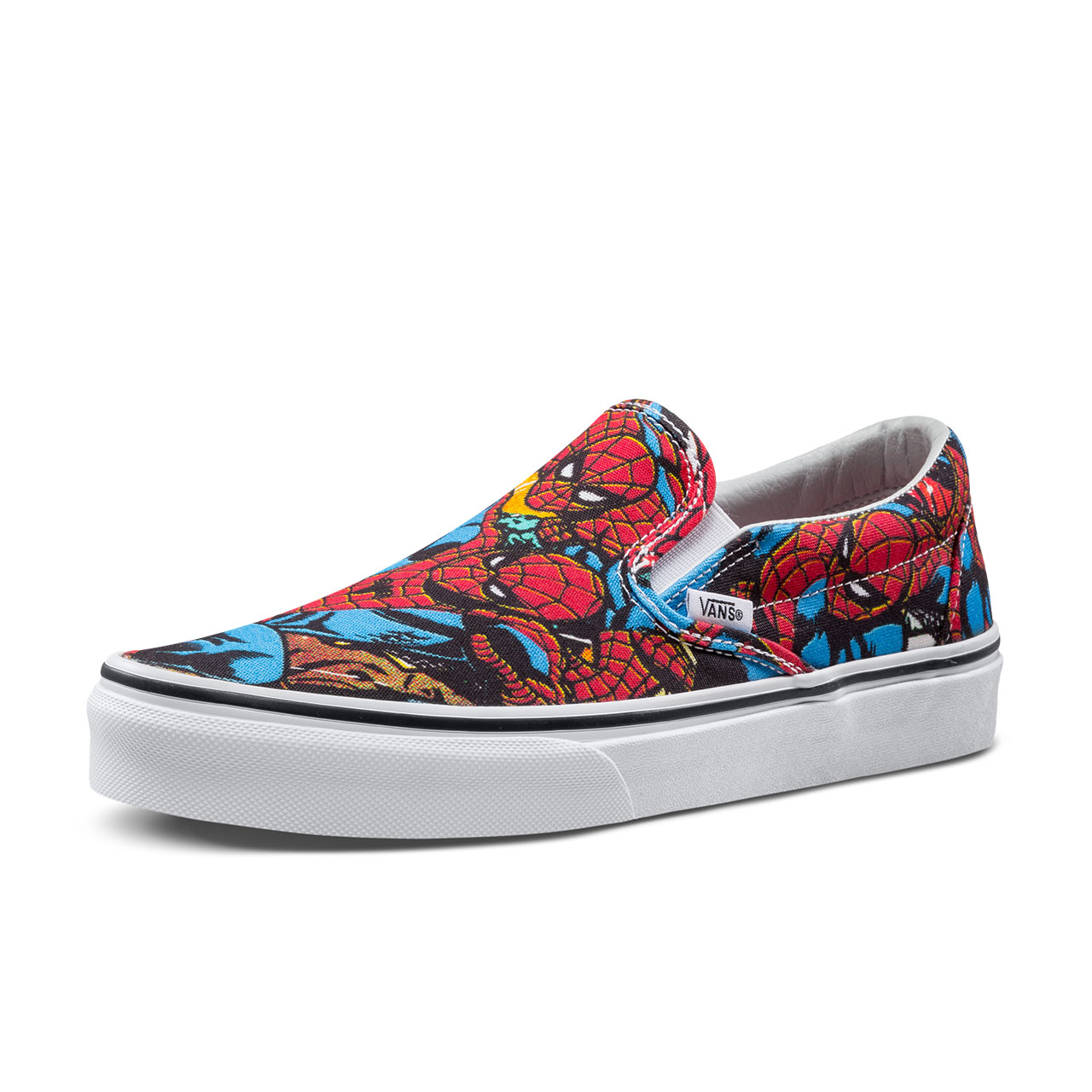 Original New Arrival Vans X Marvel Men s   Women s Classic Slip-On Low-top  Skateboarding Shoes Sneakers Canvas VN0A38F79H7 a7b9765ab