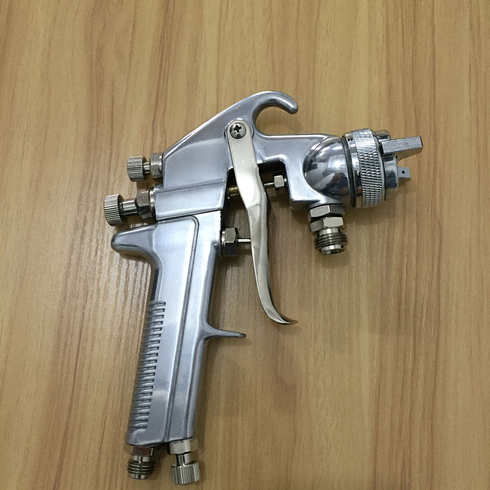 ФОТО SAT0086 free shipping auarita airbrush paint guns professional paint sprayer high pressure air gun tank paint sprayer pneumatic
