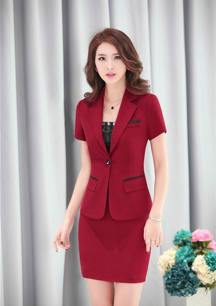 Formelle femme jupe costumes pour femmes travail portent for Portent of item protection
