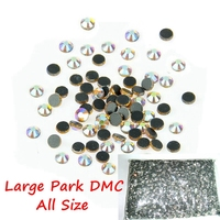 Big Bags Factory Direct Sale Cheapest Golden AB YellowAB Iron On Hot Fix Rhinestones Wholesale DMC