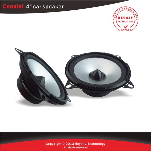 Brand new 4'' inch car speaker with black bullet head high pitch/car stereo