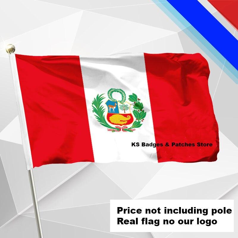 #1 288x192 #2 240x160 #3 192x128 #5 96x64 #6 60x40 #7 30x20 Ks-0231-c Klar Und GroßArtig In Der Art Peru Flagge Fliegen Flagge #4 144x96 3x5ft
