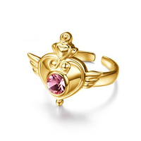 Sailor Moon Silver 925 Rings Japan Cos Japan Jewelry Sailor Jupiter H Gold Color Silver 925