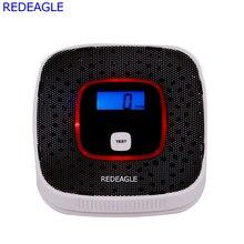 REDEAGLE ЖК-дисплей Дисплей CO тестер детектор СО Угарный газ, сигнализация Сенсор отравления человеческий голос Предупреждение детектор