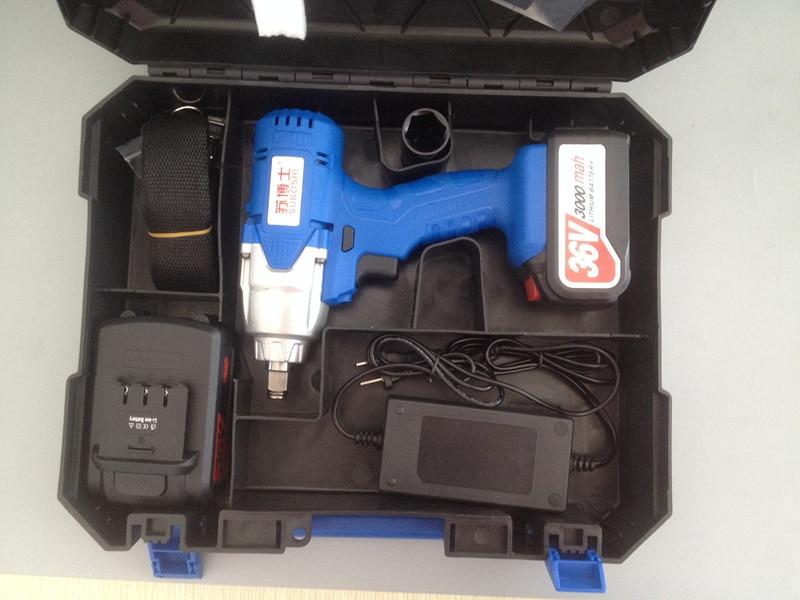 Chiave elettrica di ricarica calda di vendita 36v 3000mah con due - Utensili elettrici - Fotografia 5