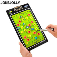 Football Soccer Tactics Plate Magnetic Teaching Board Football Tactical Exercises Coach Tactical Command For Straight GYH