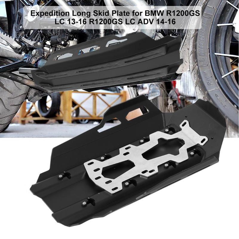 Motorcycle Aluminum Expedition Long Skid Plate for BMW R1200GS LC 2013-16 R1200GS LC ADV 2014 2015 2016 Motorcycle Accessories цена 2017