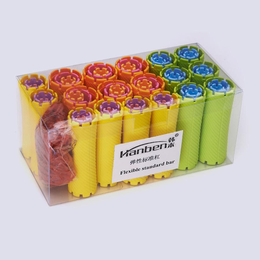 60 pcs set 10 tamanhos kit conjunto onda rolos de cabelo cabelo varas perm frio bar