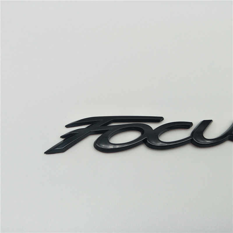 New For Ford Focus MK2 MK3 MK4 Rear Trunk Tailgate Emblem Badge Script Logo