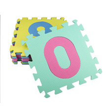 10PCS/Set EVA Foam Baby Puzzle Playmats Flooring Toddler Baby Carpet Mats Soft Rug Baby Floor Crawling Pads for Education Gifts