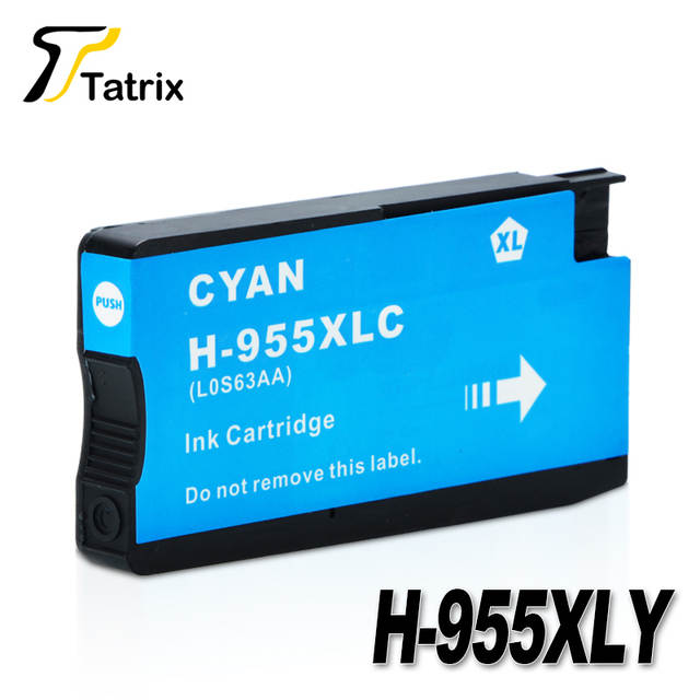 US $46 15 29% OFF|Tatrix For HP 955 955XL For HP955XL Ink Cartridge 4 Color  For HP OfficeJet Pro 7740 8210 8216 8710 8715 8716 8717 8720 8725 8727-in